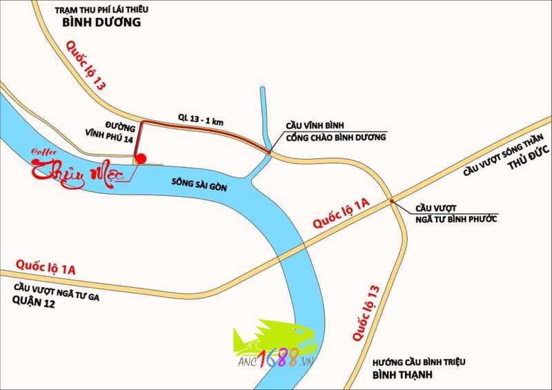hay Cà Phê Thủy Mộc, Vĩnh Phú 14, Thuận An, Bình Dương